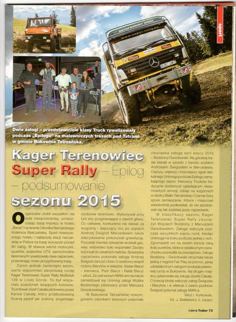 Polski Traker artykuł int